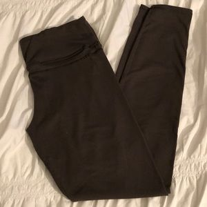 Olive green workout pant